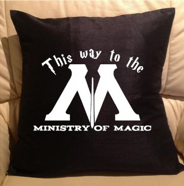 Ministry of Magic, sofa cushions